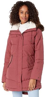 Roxy Ellie Jacket (Oxblood Red) Women's Coat