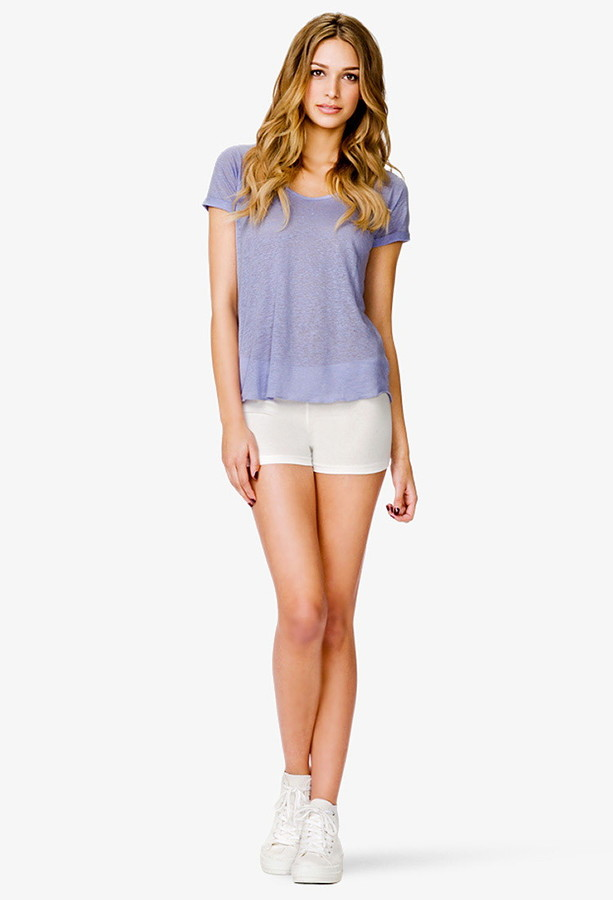 Forever 21 Essential Knit Shorts