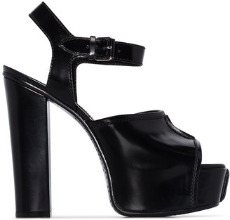 Givenchy 135mm Platform Open Toe Sandals