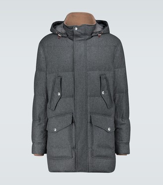 Brunello Cucinelli Down-filled parka
