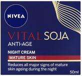 Nivea Vital Soja Anti-Age Night Cream Mature Skin 50ml