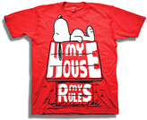 Freeze Peanuts Red 'My House My Rules' Tee - Toddler & Boys