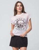 Bravado Guns N Roses Womens Burnout Tee