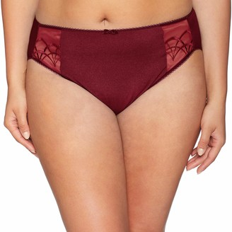 Elomi Women's Plus Size Cate Embroidered Briefs