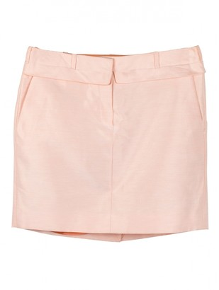 Carven Pink Cotton Skirt for Women
