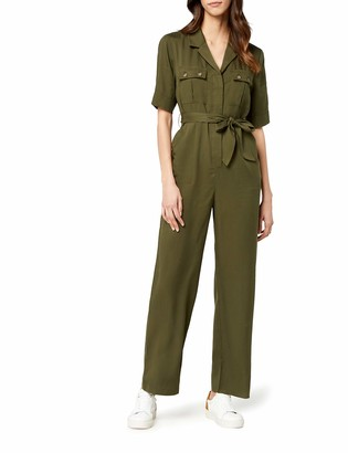 Find. Amazon Brand Women's Short Sleeve Jumpsuit
