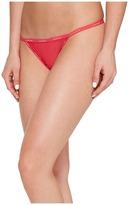 Calvin Klein Underwear Sheer Marquisette String Thong Women's Underwear