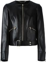 Philipp Plein 'Patience' jacket - women - Cotton/Lamb Skin/Polyamide/Viscose - M