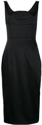 Dolce & Gabbana Dutchess satin midi dress