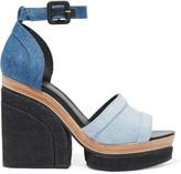 Pierre Hardy Charlotte Sun denim platform sandals