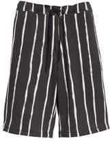 3.1 Phillip Lim Striped Paint Shorts