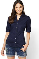 New York & Co. 7th Avenue - Madison Stretch Shirt - Angled Seams