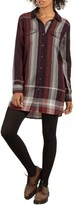 Volcom Women's Well Plaid Shirtdress