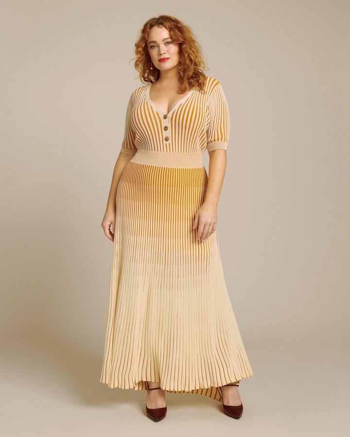 Nicholas Knit Pleated Skirt