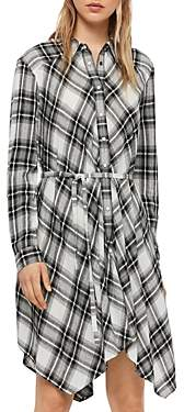 AllSaints Tala Plaid Shirt Dress