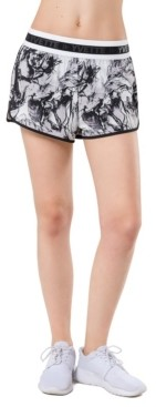 Yvette Women's Floral Double Layer Shorts