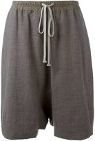 Rick Owens 'Pod' shorts - women - Cotton/Cupro/Virgin Wool - 38