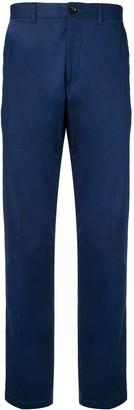 Kent & Curwen High-Waisted Straight Leg Trousers