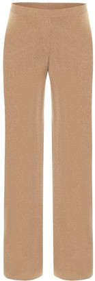 Loro Piana Lexington straight cashmere pants