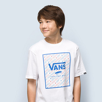 Vans Boys Print Box T-Shirt
