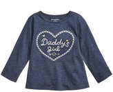 First Impressions Daddy's Girl-Print Cotton T-Shirt, Baby Girls (0-24 months), Created for Macy's