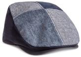 Men's 4 Panel Driving Cap - Indigo Blue