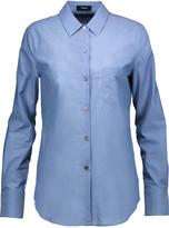 Theory Weylend cotton-chambray shirt