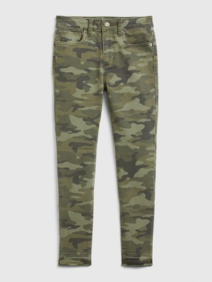 Gap Kids High Rise Ankle Camo Jeggings with Stretch