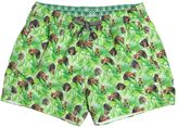 Myths Monkey Printed Nylon Swim Shorts