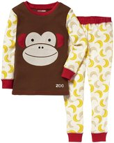 Skip Hop Monkey Zoojamas Pajamas (Toddler/Kid) - Multi-5T