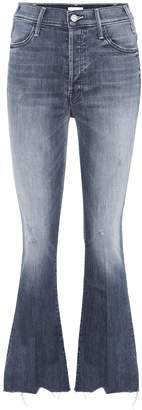 Mother Button Fly Hustler Ankle jeans