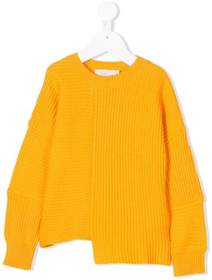 Stella McCartney Kids Ribbed Crew Neck Sweater