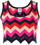 M Missoni Zigzag Knit Top