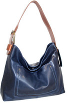 Nino Bossi Women's Lexis Leather Hobo
