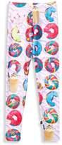 Zara Terez Girl's Rainbow Bagel Leggings