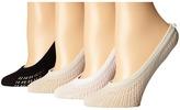 Kate Spade 4-Pack Liner Socks Women's No Show Socks Shoes