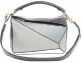 Loewe Puzzle Small Satchel Bag, Gray
