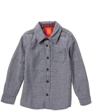 Joe Fresh Woven Button Shirt (Big Boys)