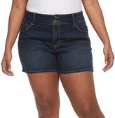 Apt. 9 Plus Size Modern Fit Jean Shorts