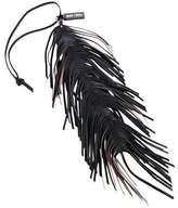 Jimmy Choo Leather Fringe Charm
