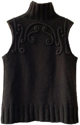 Kenzo Brown Wool Knitwear for Women Vintage