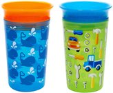 Munchkin Miracle 360 Sippy Cup - Green/Blue - 10 oz - 2 ct