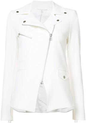 Veronica Beard zipped biker jacket