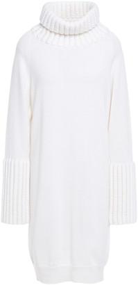 MM6 MAISON MARGIELA Knitted Turtleneck Mini Dress