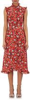 Erdem Women's Sebla Floral Silk Dress