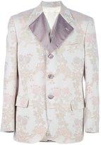 Dolce & Gabbana Vintage flower print suit