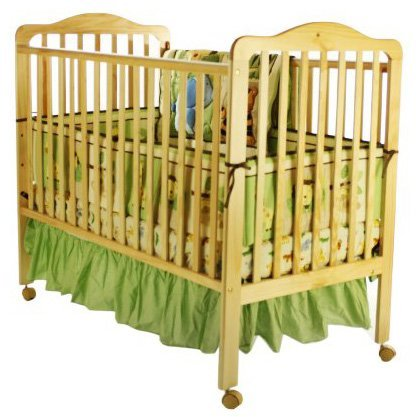 Dream On Me Cumberland 2 in 1 Convertible Crib - Natural