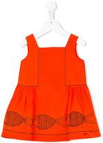 Rykiel Enfant - fish print dress - kids - Cotton - 4 yrs
