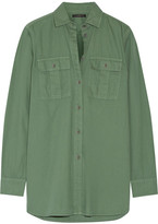 J.Crew Cotton Shirt - Army green