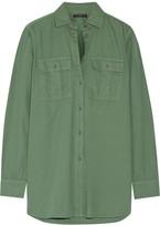 J.Crew Cotton Shirt - Army green
